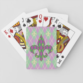 Carnival Argyle Classic Playing Cards