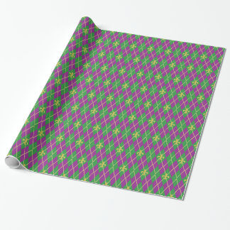 Carnival Argyle Wrapping Paper