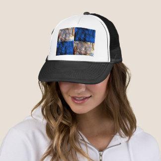 carnival chest trucker hat