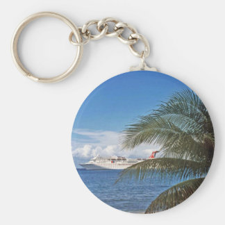 Carnival cruise ship docked at Grand Cayman Key Ring
