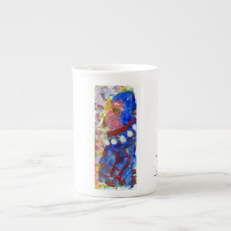 Carnival figure mug