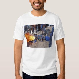 carnival flame tee shirt