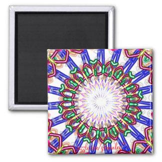 Carnival Glass Magnet