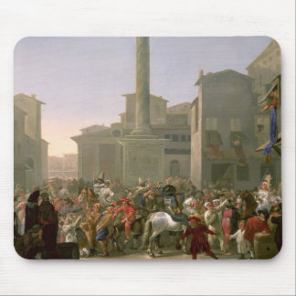 Carnival in Rome, c.1650-51 Mouse Pad
