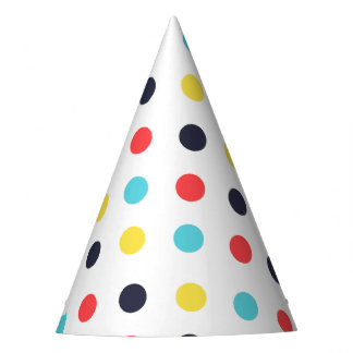 Carnival Large Dot Party Hat