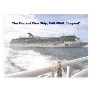 Carnival Legend d Postcard