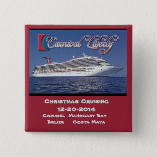 Carnival Liberty 12-20-2014 15 Cm Square Badge