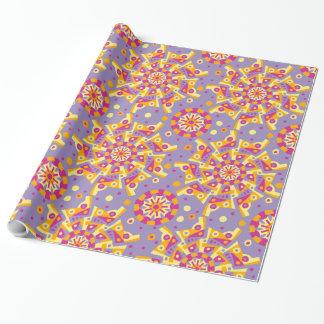 Carnival Mandala Pattern Wrapping Paper