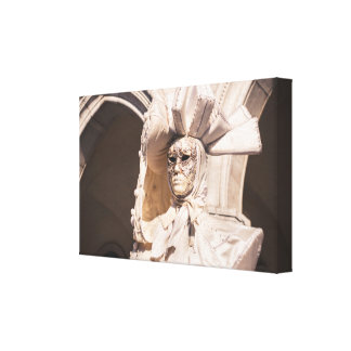 Carnival mask in Venice Canvas Print