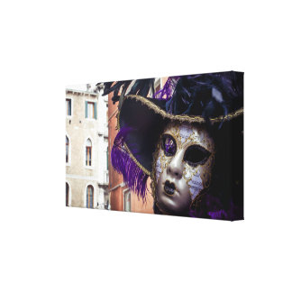 Carnival mask in Venice Canvas Print