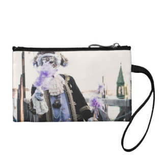 Carnival mask in Venice Coin Purse