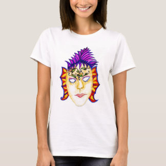 Carnival Mask Watercolor 2 T-Shirt