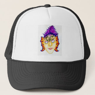 Carnival Mask Watercolor 2 Trucker Hat