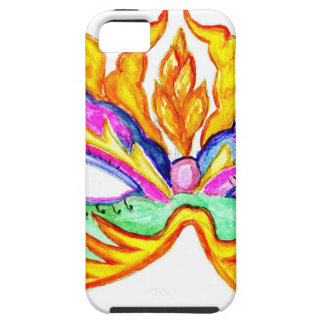 Carnival Mask Watercolor Case For The iPhone 5
