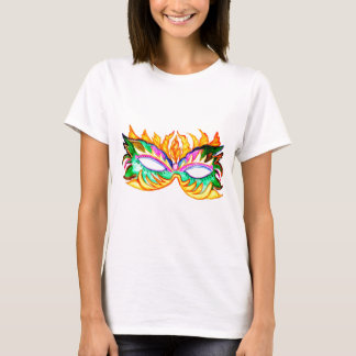Carnival Mask Watercolor T-Shirt