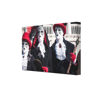 Carnival masks in Venice Canvas Print