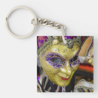 Carnival Masks in Venice Italy Key Ring
