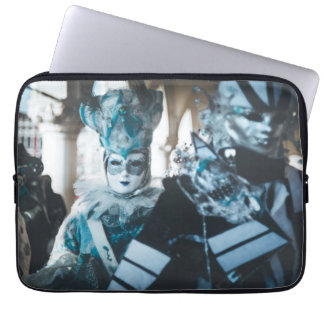 Carnival masks in Venice, Italy Laptop Sleeve