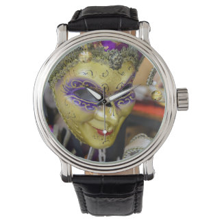 Carnival Masquerade Masks in Venice Italy Watch