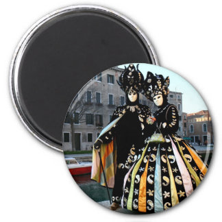 Carnival of Venise1 6 Cm Round Magnet