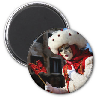 Carnival of Venise2 6 Cm Round Magnet