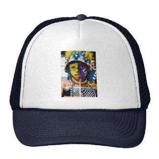 carnival paint hats