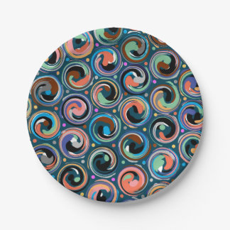 Carnival Paper Plates 7 Inch Paper Plate