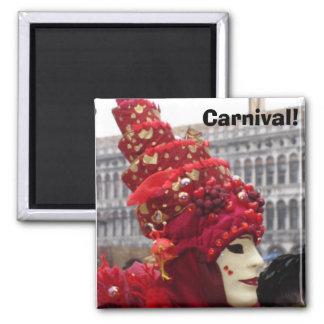 Carnival! Square Magnet