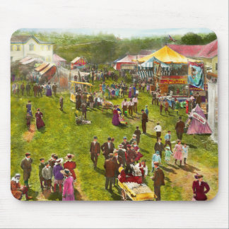 Carnival - Summer at the carnival 1900 Mouse Pad