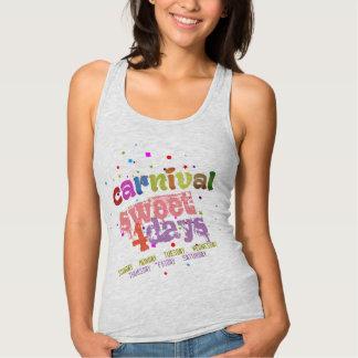 Carnival Sweet 4 Days (editable) Singlet