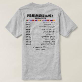 Carnival Vista Inaugural Sailing - Mediterranean T-Shirt