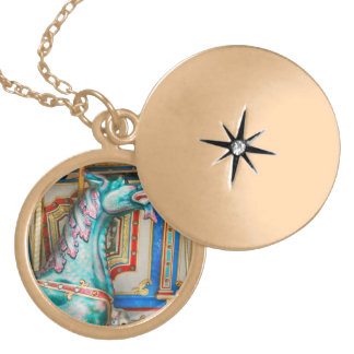Carnival - Year of the dragon Locket Necklace