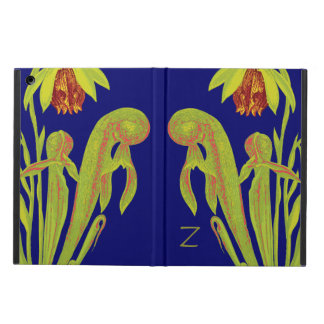 Carnivorous Cobra Pitcher Plant Monogram iPad Air Cover