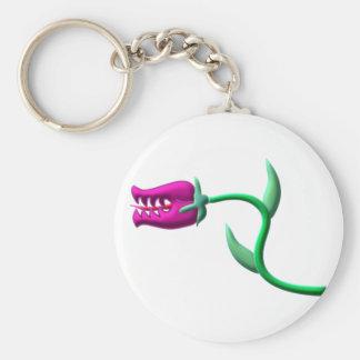 carnivorous plant carnivorous plans basic round button key ring