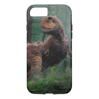 Carnotaurus Dinosaur Cretaceous Period Grass Trees iPhone 8/7 Case