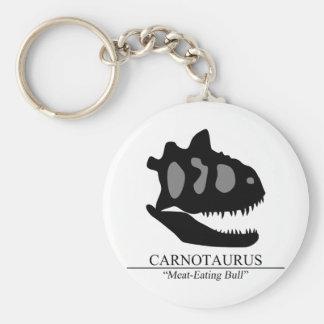 Carnotaurus Skull Key Ring