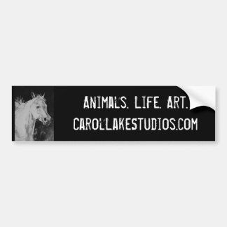 Carol Lake Studios Bumpersticker Bumper Sticker