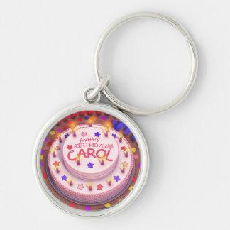 Carol s Birthday Cake Keychain