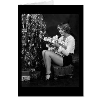 Carole Lombard Christmas Card