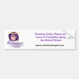 Carolina Angel Grand Strand Bumper Sticker