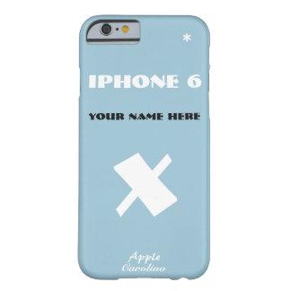 Carolina Apple X Customize IPhone 6 case your name