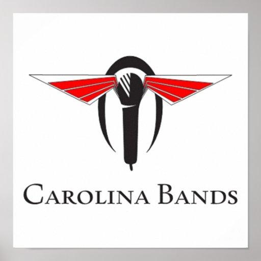 Carolina Bands Live Poster
