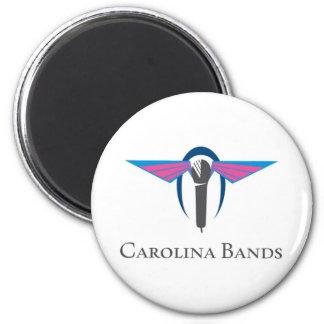 Carolina Bands Magnet