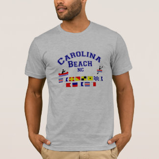 Carolina Beach NC Signal Flags T-Shirt