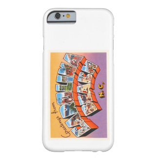 Carolina Beach North Carolina NC Vintage Postcard- Barely There iPhone 6 Case