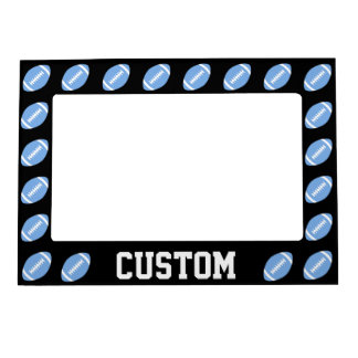Carolina Blue Football Custom Magnet Picture Frame Magnetic Photo Frames