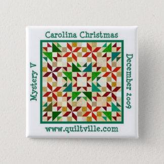 Carolina Christmas Pin
