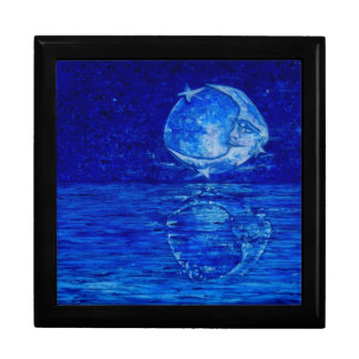 Carolina Moon - A Reflection Large Square Gift Box