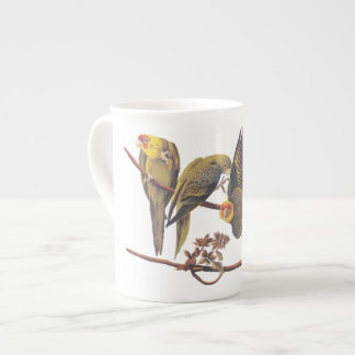 Carolina Parakeet Trio Tea Cup