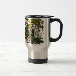Carolina Parrot - John James Audubon (1827-1838) Travel Mug